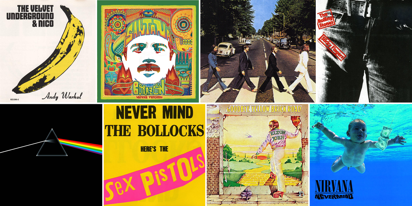 The 20 Most Iconic Album Covers of All Time
