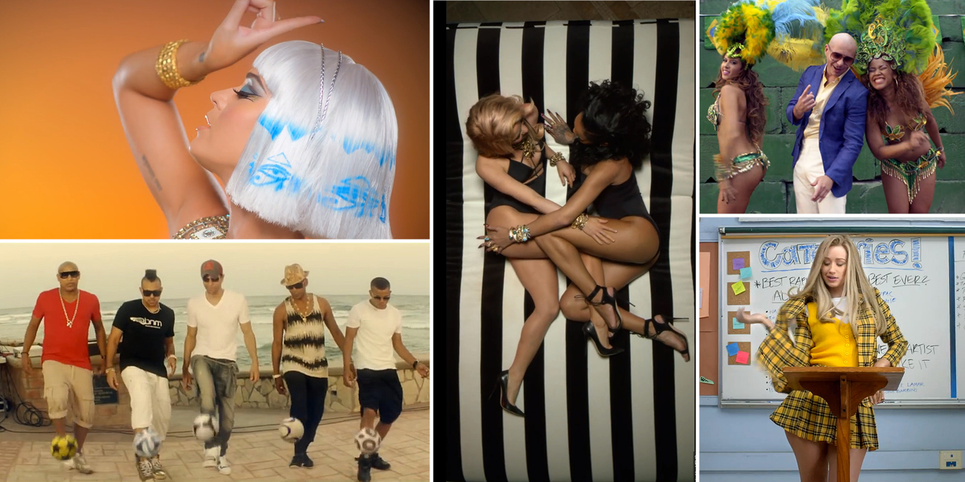 The Most Watched Music Videos of 2014