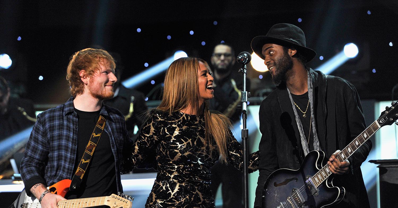 Showtime! Beyoncé's tribute to Stevie Wonder